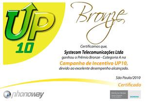 certificado Up 10 2011